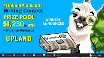#UplandPublish0x Contest and Giveaway Winners Announced - $1,230 in ETH Rewarded!