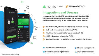 Bringing even more to the Numio solutions!