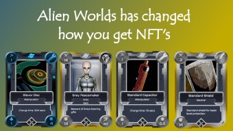 Alien Worlds changed how you mine NFT's