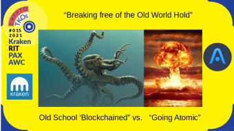 "CRYPTO TKO ISSUE #015 Kraken Power: The RIT + PAXOS Borg  vs ""The Atomic"" Option"