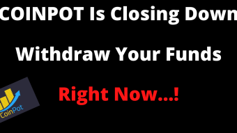 Coinpot is closing-withdraw your funds now