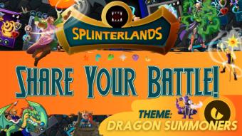 Splinterlands Weekly Battle Challenge: Dragon Summoners