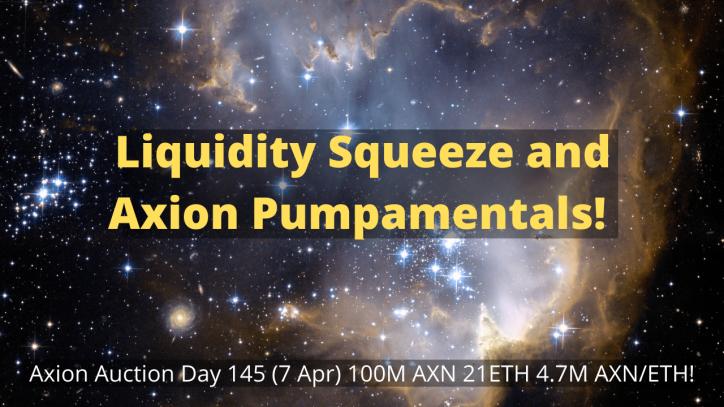 Axion crypto regular auction day 145