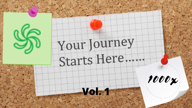 Journey to 1000x - Vol. 1