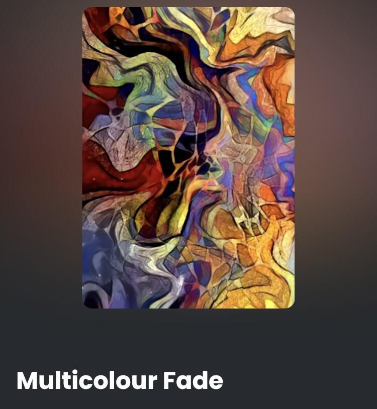 Multicolour Fade