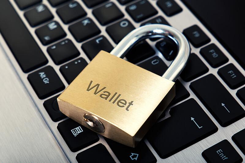 Keyboard Wallet Lock