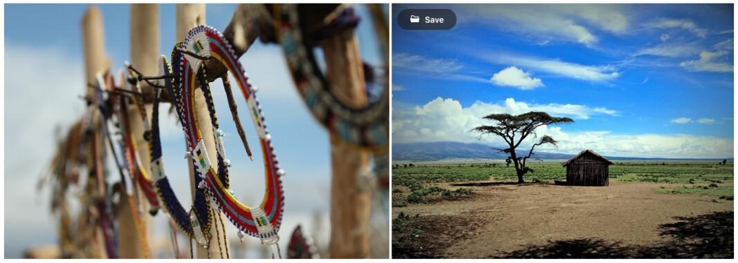 Masai school hut in Serengeti, Tanzania