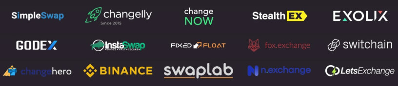 SwapSpace Prtner List
