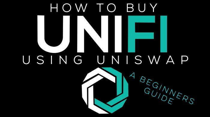 Our simple and easy guide to purchasing UNIFI DeFi tokens from Uniswap!