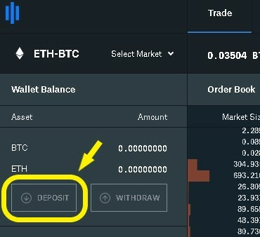 Deposit ETH