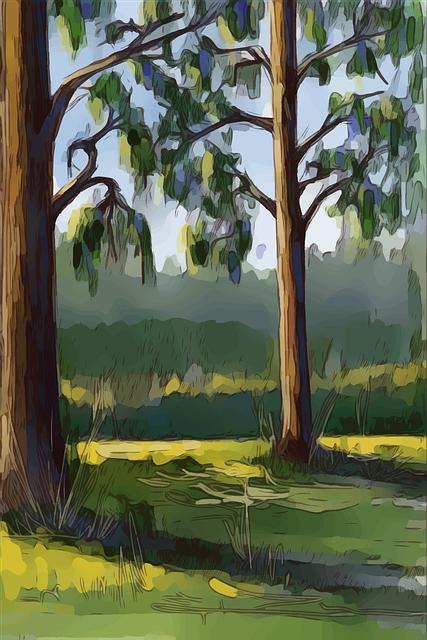 nature, greenery