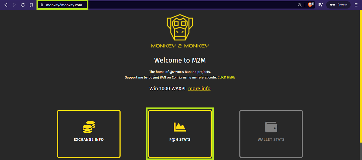 monkey2monkey homepage - udinxyz