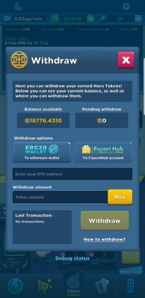Crypto Idle Miner: Hora Token Released & New Content!