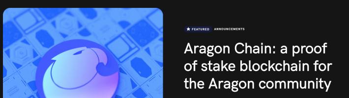 Aragon Chain