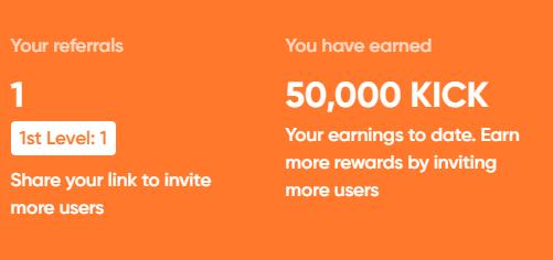 Receive 50 000 Kick Token Through Airdrop For Free