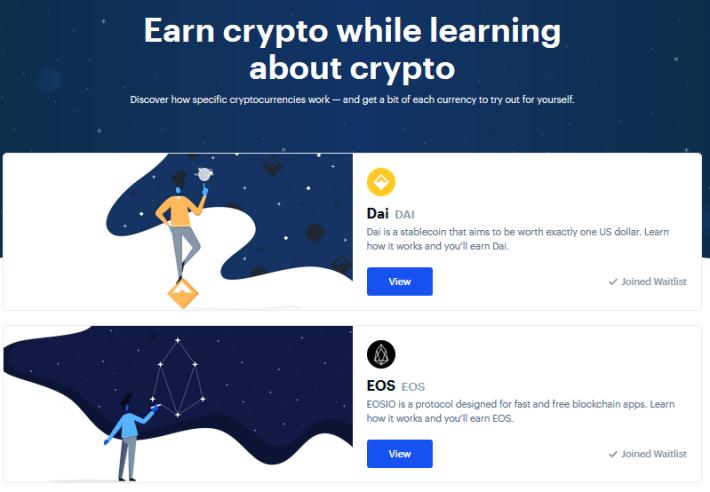 earning crypto