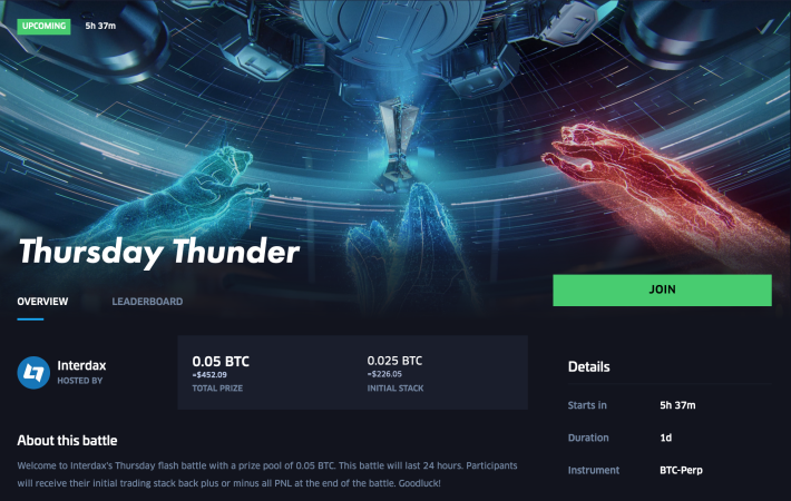 Thursday Thunder battle