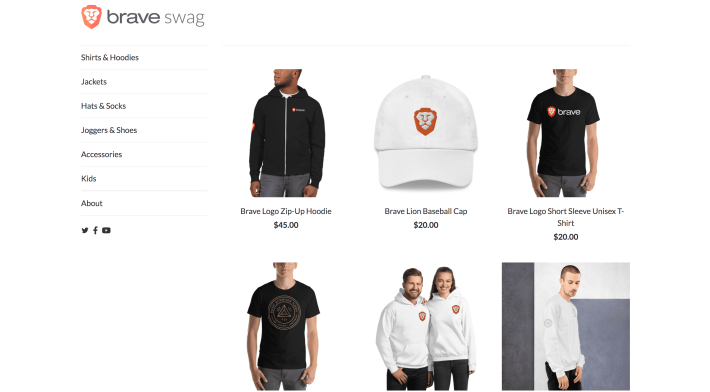 A look at the store interface