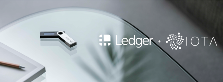 IOTA Hardware Wallet support with Ledger