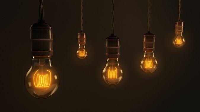 Multiple Cool Light Bulbs
