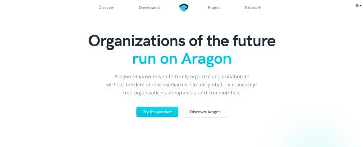 Aragon website