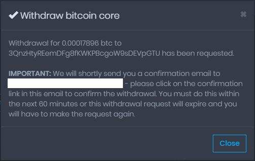 CP Confirmation