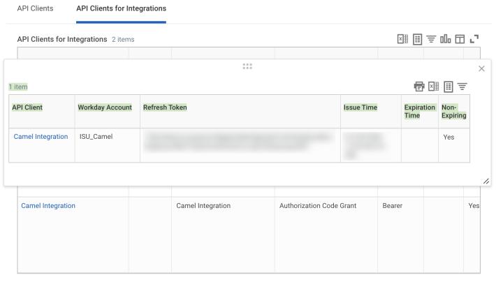 Register API Client configuration.