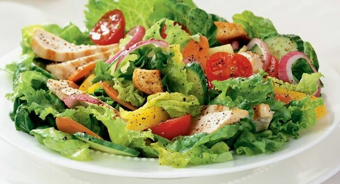 Tossed Salad from yummly.com