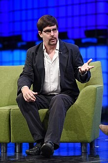 Gavin Andresen centre stage at 2014 Web Summit