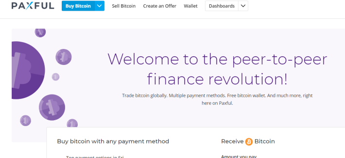 Buy And Sell Your Bitcoins For Real Cash With Paxful Instantly
