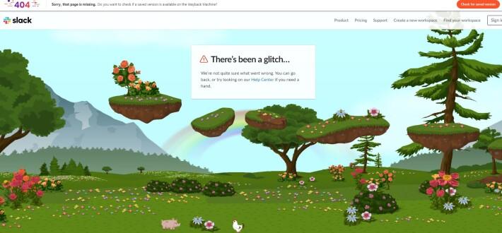 Slack 404