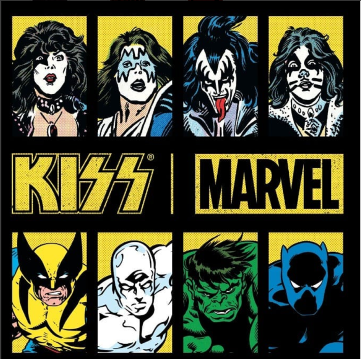 KISS & Marvel Join Forces Again For Thr First Time Since 1977