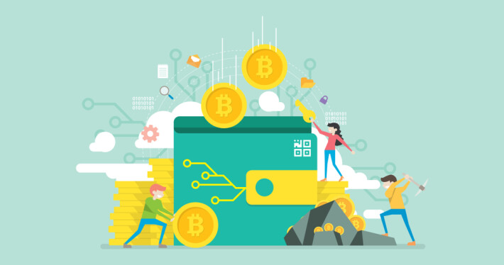 bitcoin crypto blockchain wallet secure money