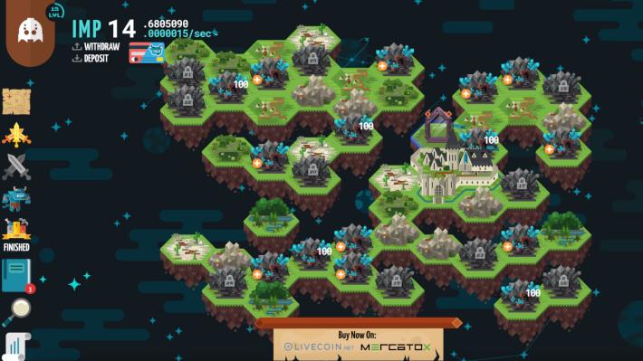 Screenshot of Ether Kingdom