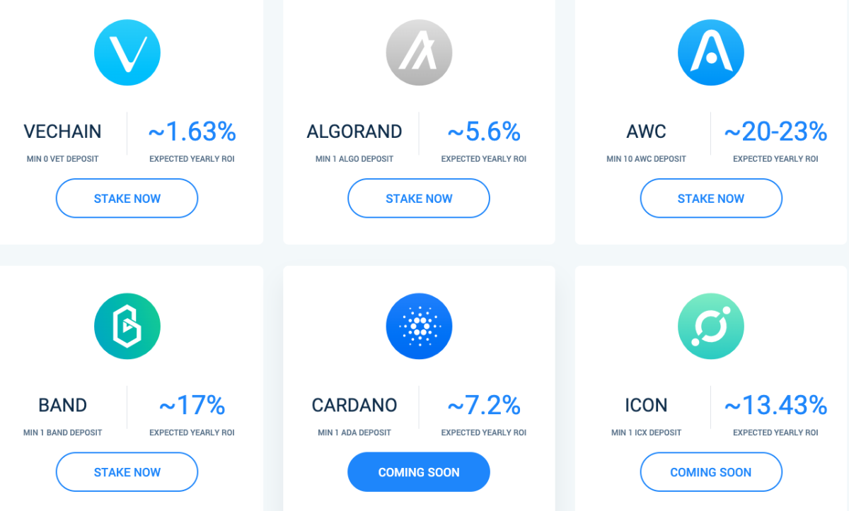 Mondays are for Atomic Wallet Staking