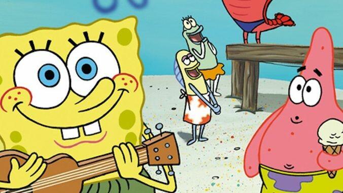 SpongeBob SquarePants in the Groove