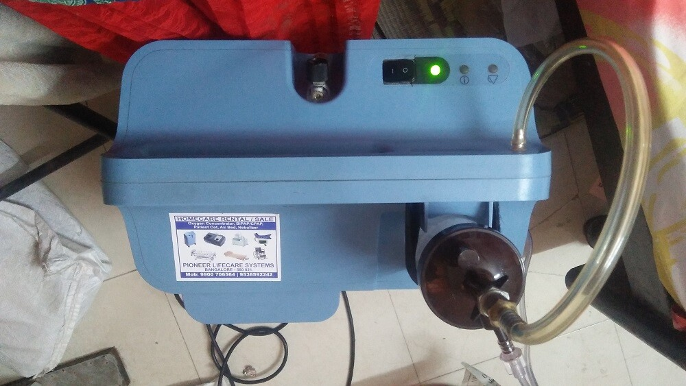 oxygen supplying machine