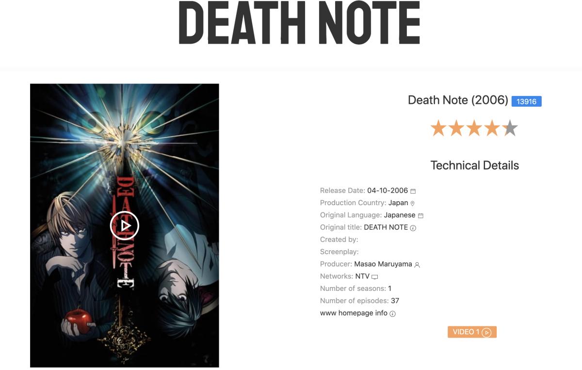 estrenoscinehoy death note