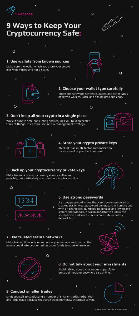 9 Ways to Keep Your Cryptocurrency Safe