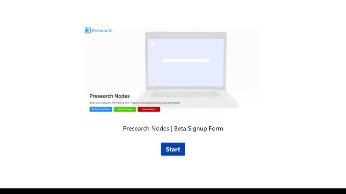 Presearch nodes