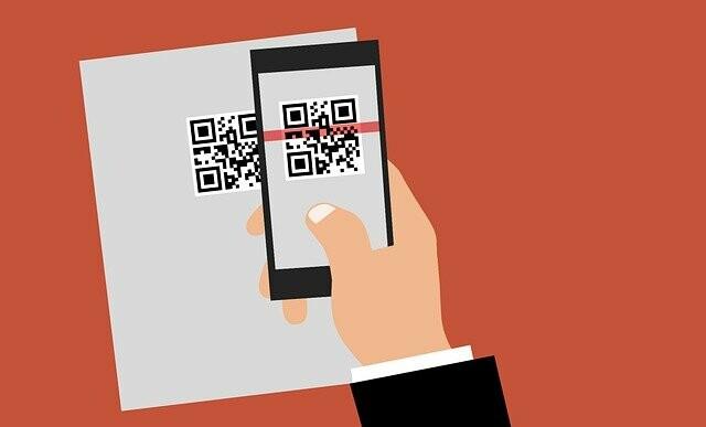 technology, qr code