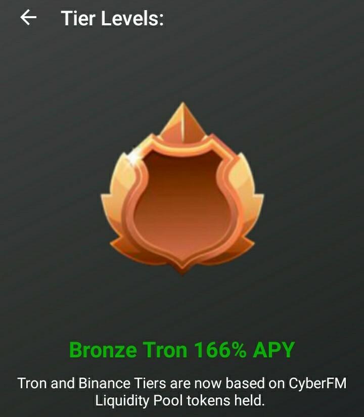 CYFM-TRON bronze tier icon