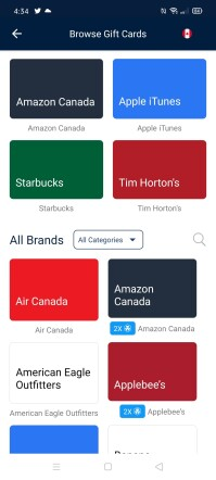 Canadian Affiliates