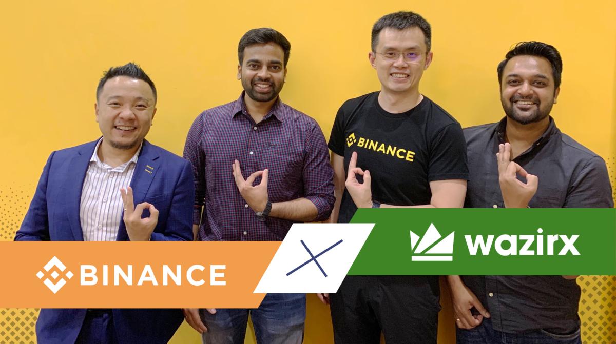 Binance + WazirX : A Perfect Match 😘