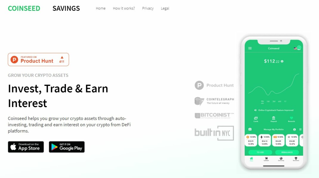 Coinseed Round-Up Crypto