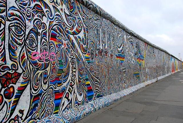 Graffiti on Berlin Wall