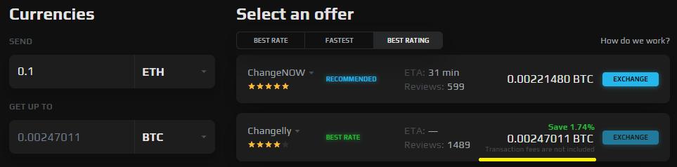 best rates
