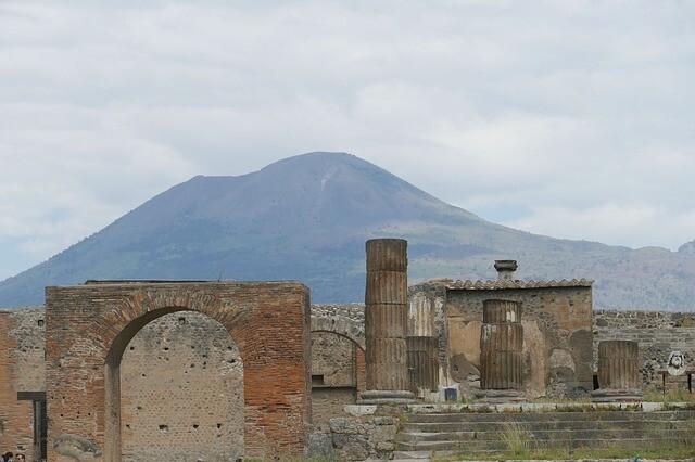 Pompeii and the infamous valcano