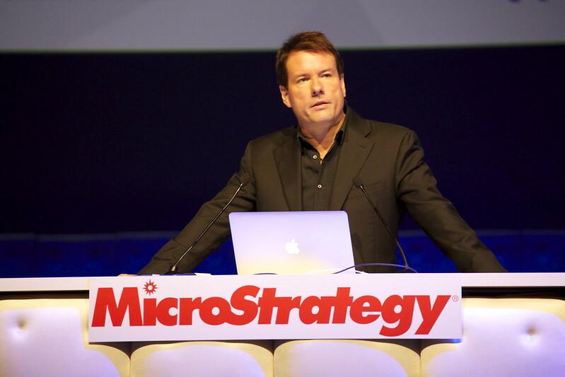 Michael Saylor MicroStrategy CEO