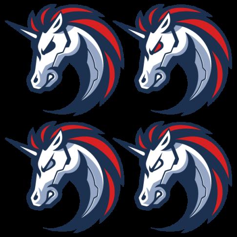 1inch unicorn icon alternate eye colors